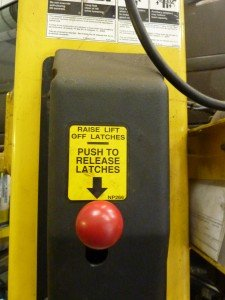 DC Autos Overton Vehicle Lift Control Panel